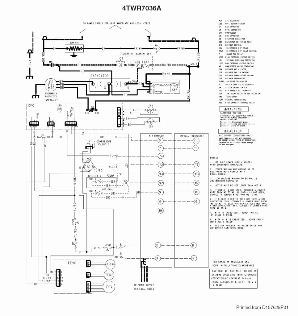 trane wiring diagrams ych180
