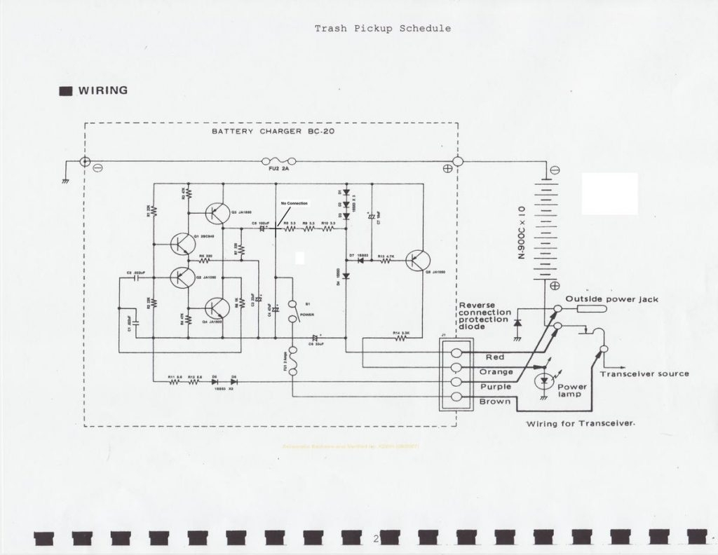 A Flow Zone Wiring Diagram