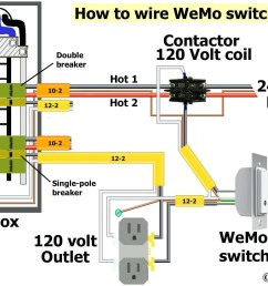 outdoor electrical outlet wiring moreover how to wire a double pole dual wiring a receptacle schematic [ 2034 x 1328 Pixel ]