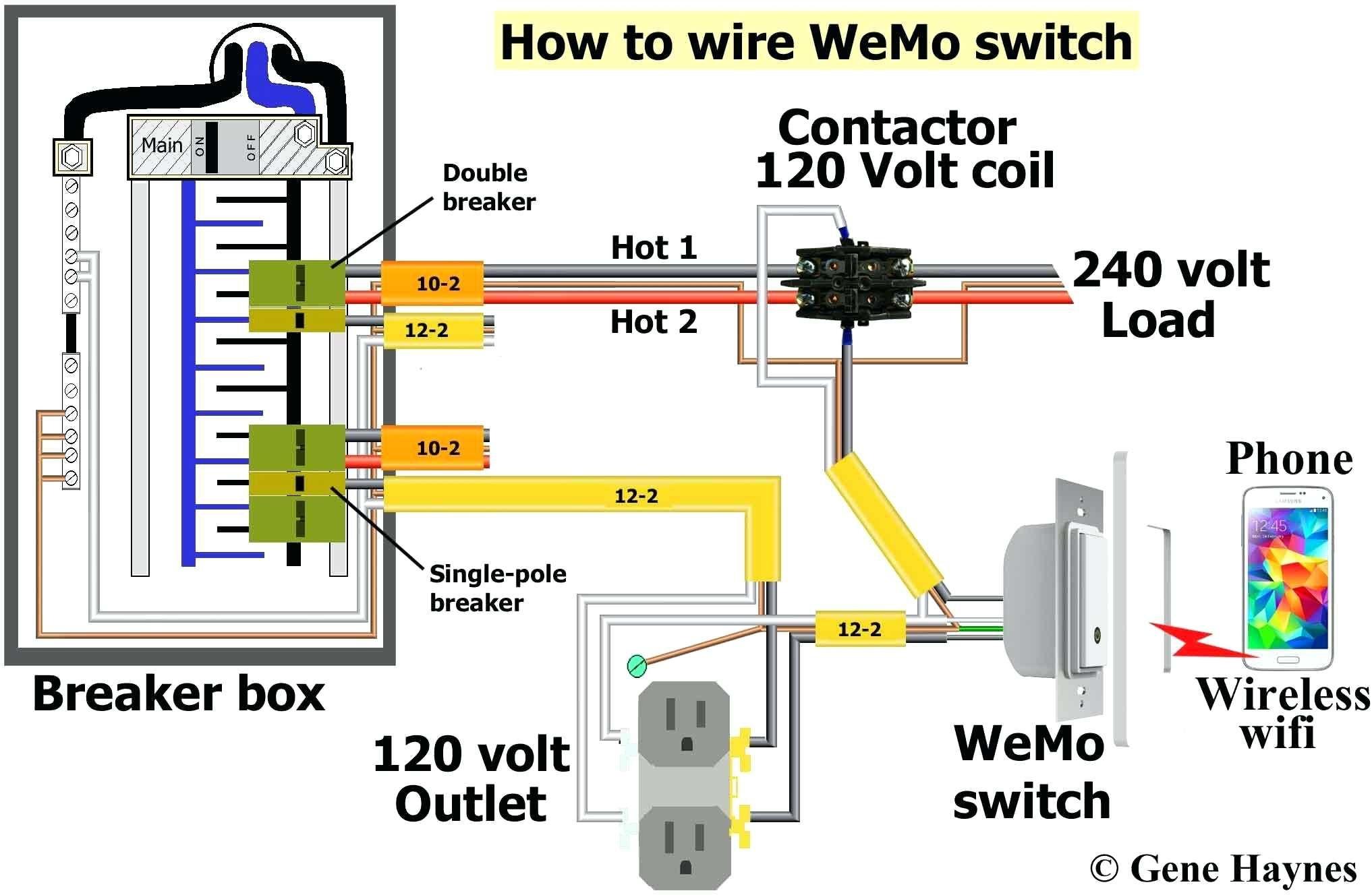 Two Pole Gfci Breaker Wiring Diagram