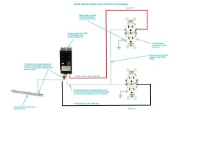 Two Pole Gfci Breaker Wiring Diagram   Free Wiring Diagram