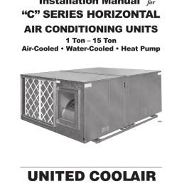 united cool air wiring diagram [ 791 x 1024 Pixel ]