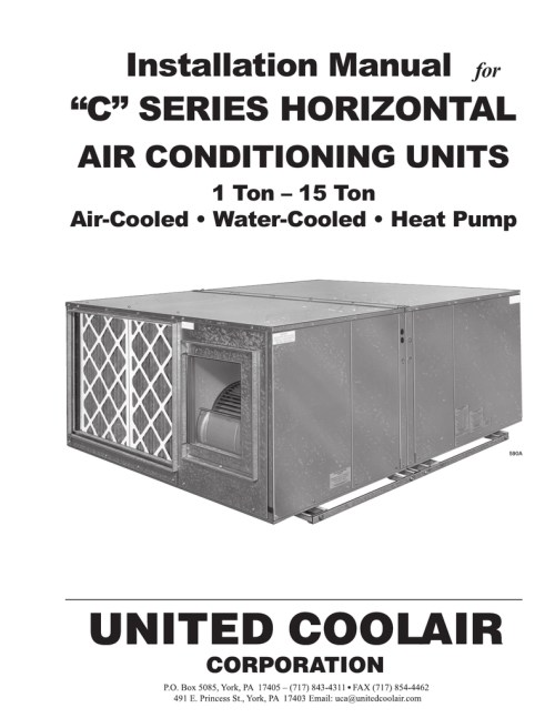small resolution of united cool air wiring diagram