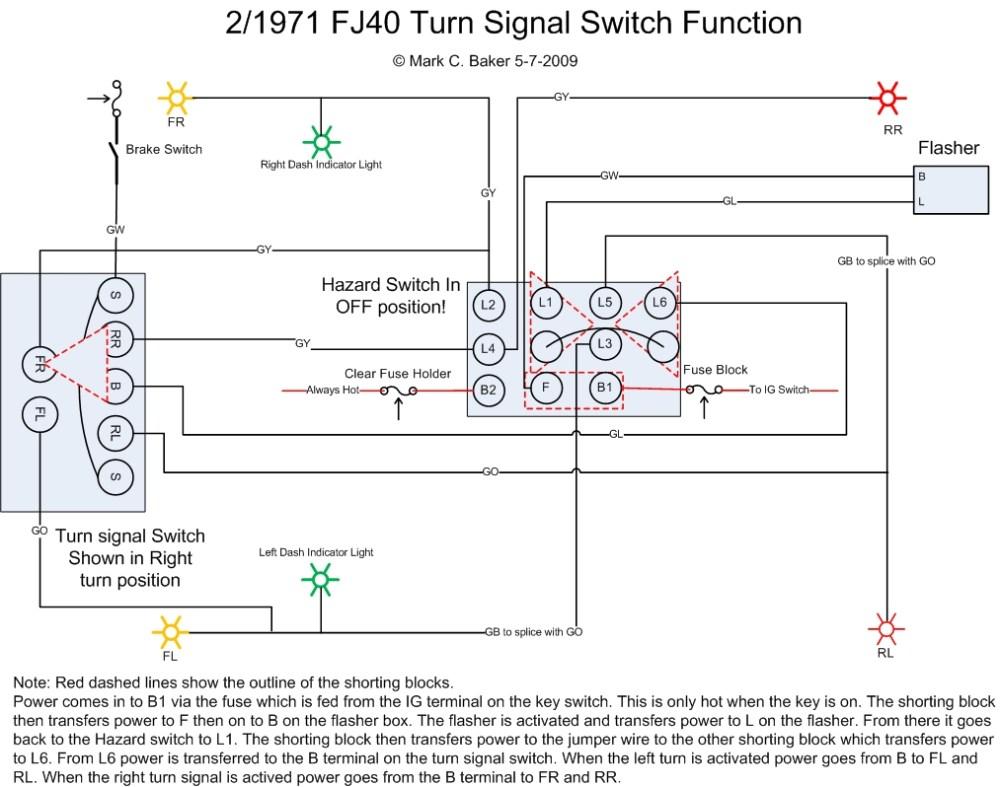 medium resolution of universal turn signal wiring diagram universal turn signal switch wiring diagram 2f