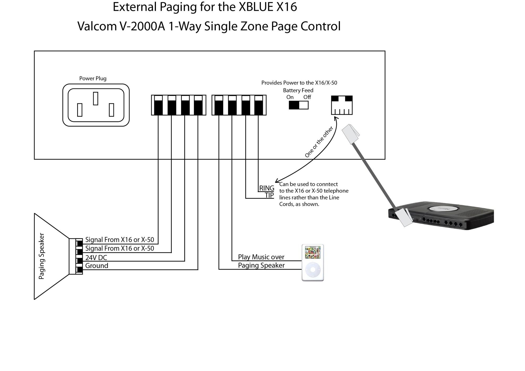 hight resolution of valcom paging horn wiring diagram