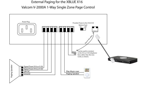 small resolution of valcom paging horn wiring diagram