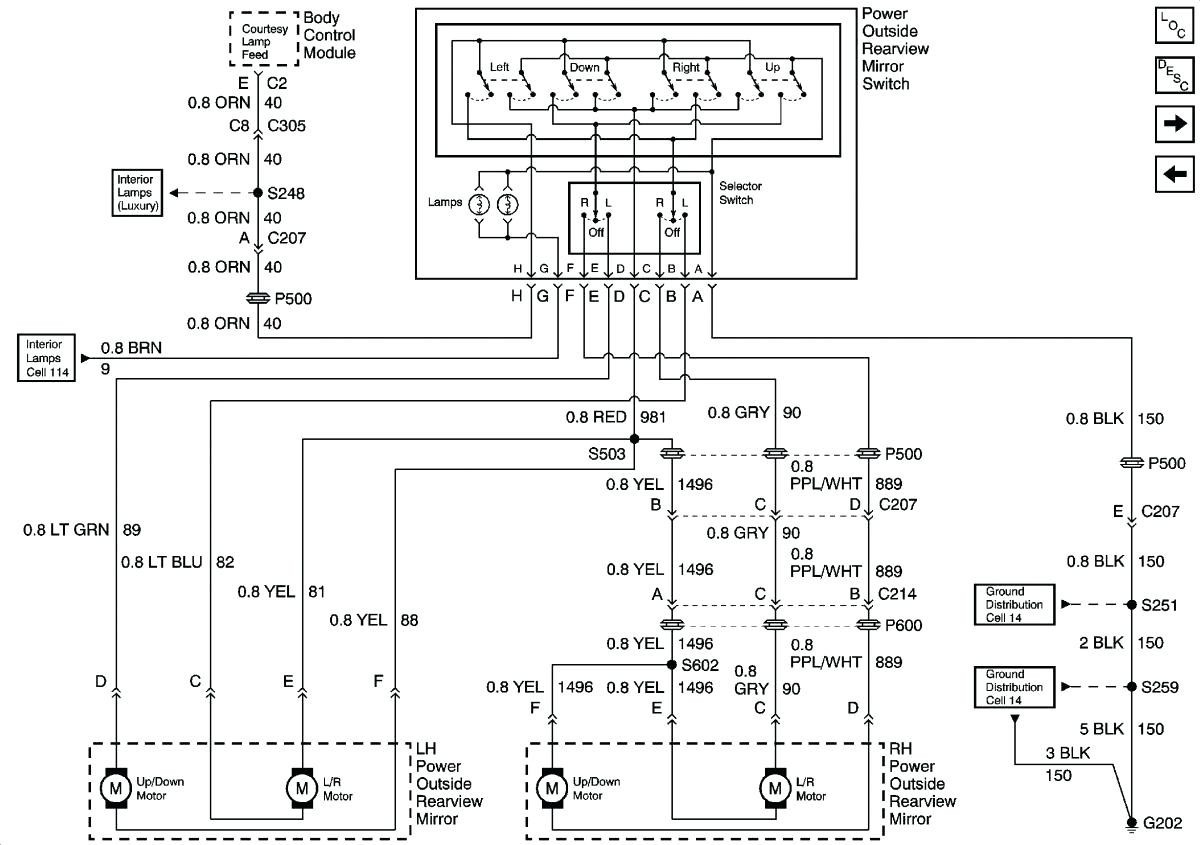 silverado mirror wiring diagram - online wiring diagram on toyota rear  view mirror diagram, gm