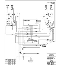 stove top electrical wiring diagrams wiring diagram schematics wiring diagram for ge jgp970 gas cooktop [ 1700 x 2200 Pixel ]
