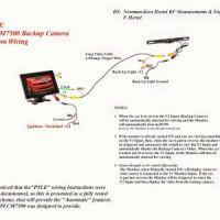 Voyager Backup Camera Wiring Diagram | Free Wiring Diagram