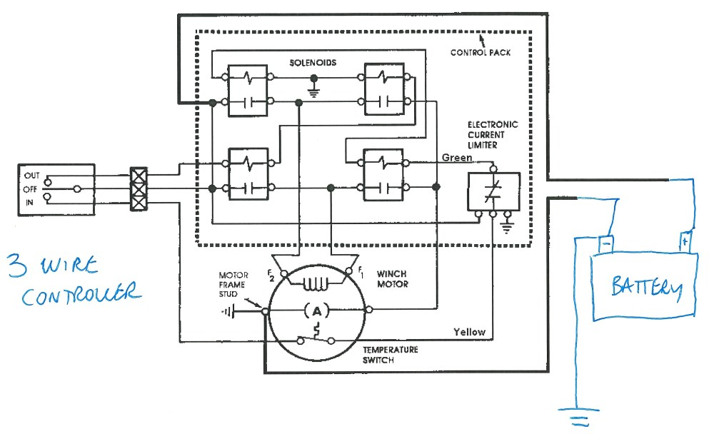 medium resolution of warn winch solenoid wiring diagram you may show original imageswarn winch wiring diagram 4 solenoid wiring