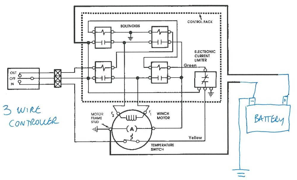 medium resolution of warn winch solenoid wiring diagram you may show original imageswarn winch wiring diagram 4 solenoid wiring