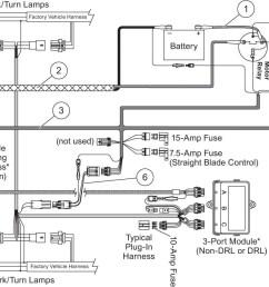 western snow plow controller wiring diagram [ 1400 x 859 Pixel ]