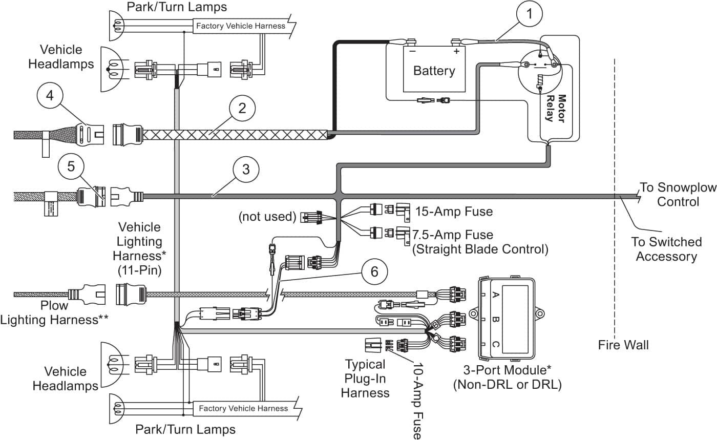 hight resolution of western snow plow controller wiring diagram