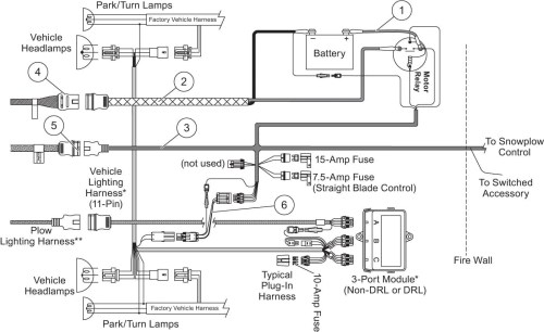 small resolution of western snow plow controller wiring diagram