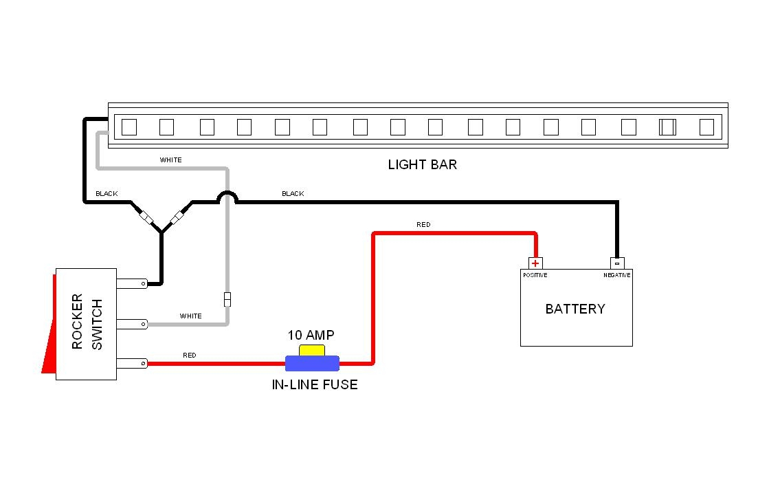Wiring Light Led Wire 3 Diagram Bar