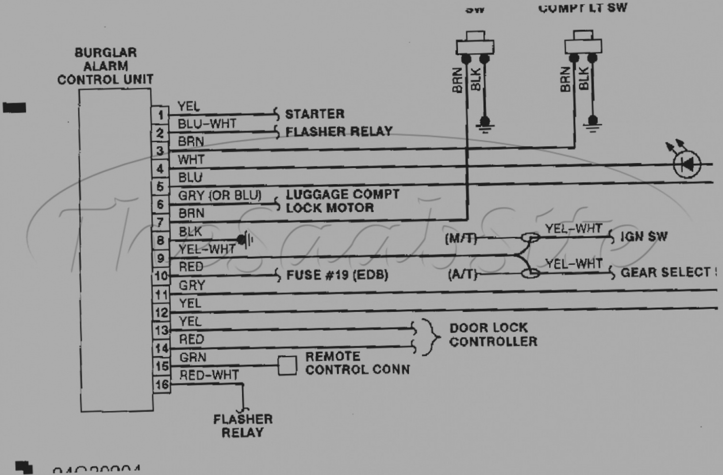 hight resolution of whelen siren 295slsa6 wiring diagram