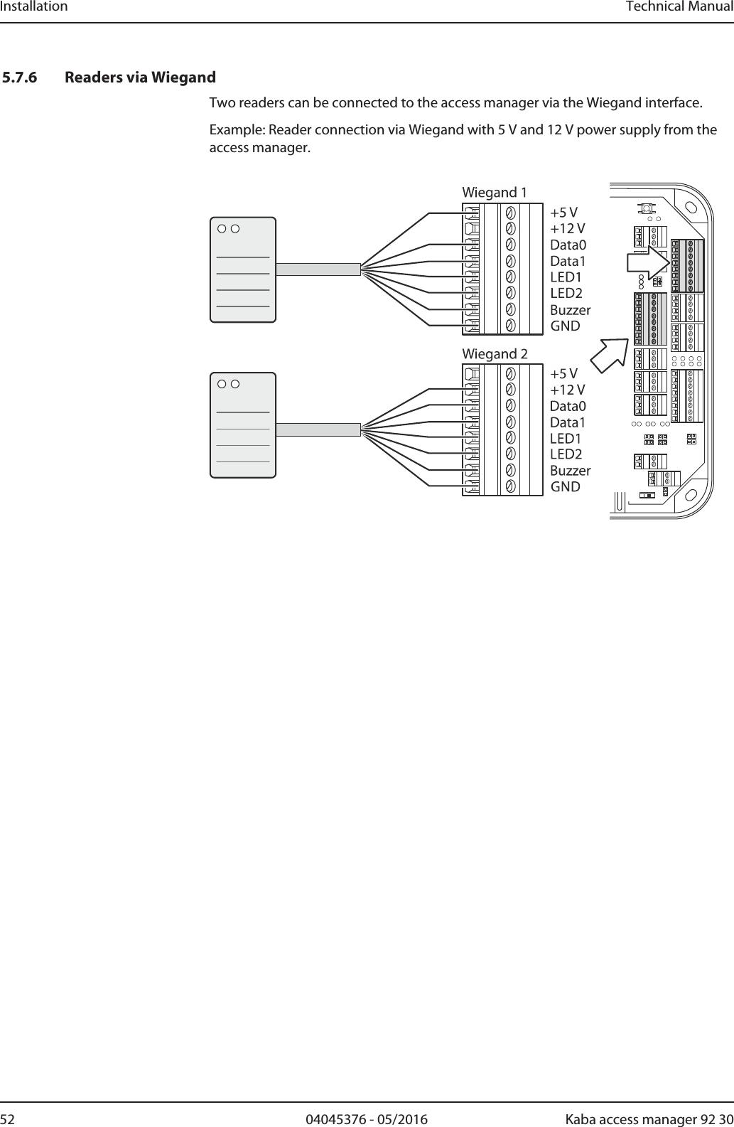 rfid reader wiring diagram