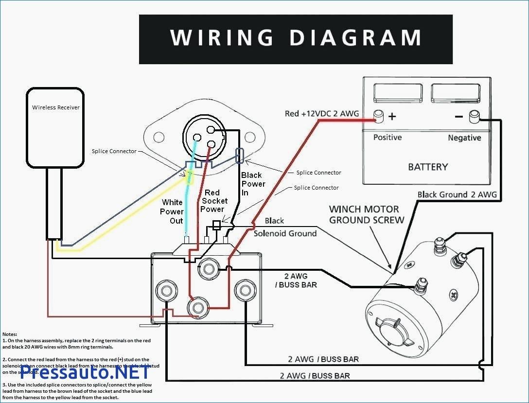 Winch Contactor Wiring Diagram