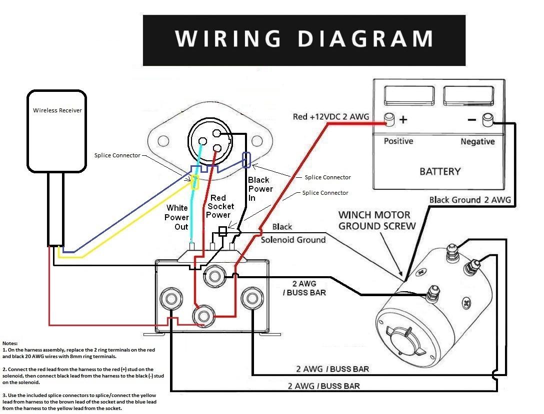 Winch Wireless Remote Control Wiring Diagram