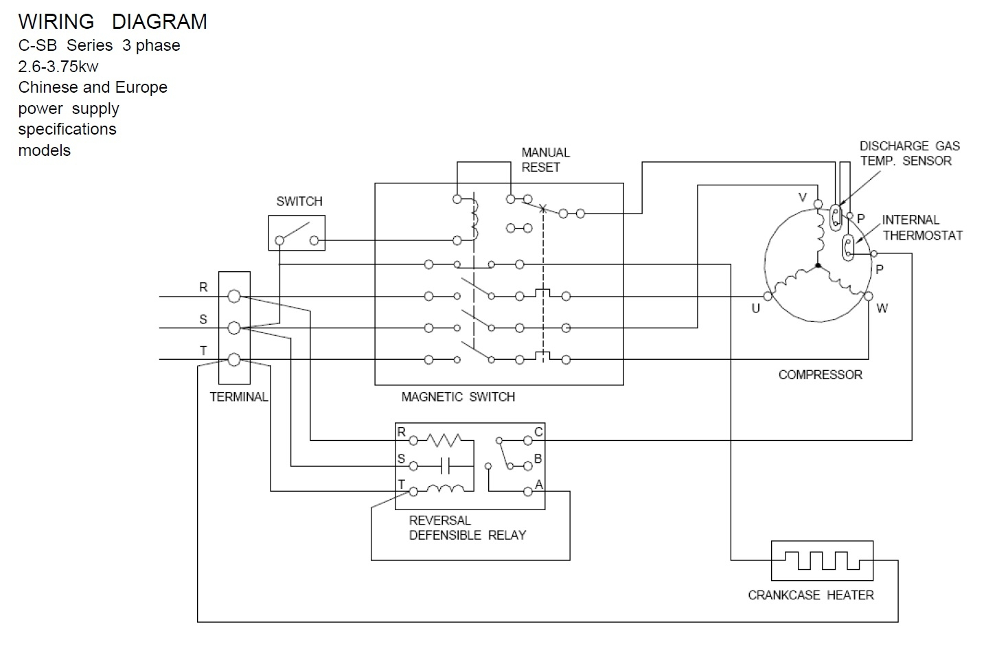 hight resolution of wiring diagram for copeland compressor copeland pressor wiring diagram collection wiring diagram for copeland pressor