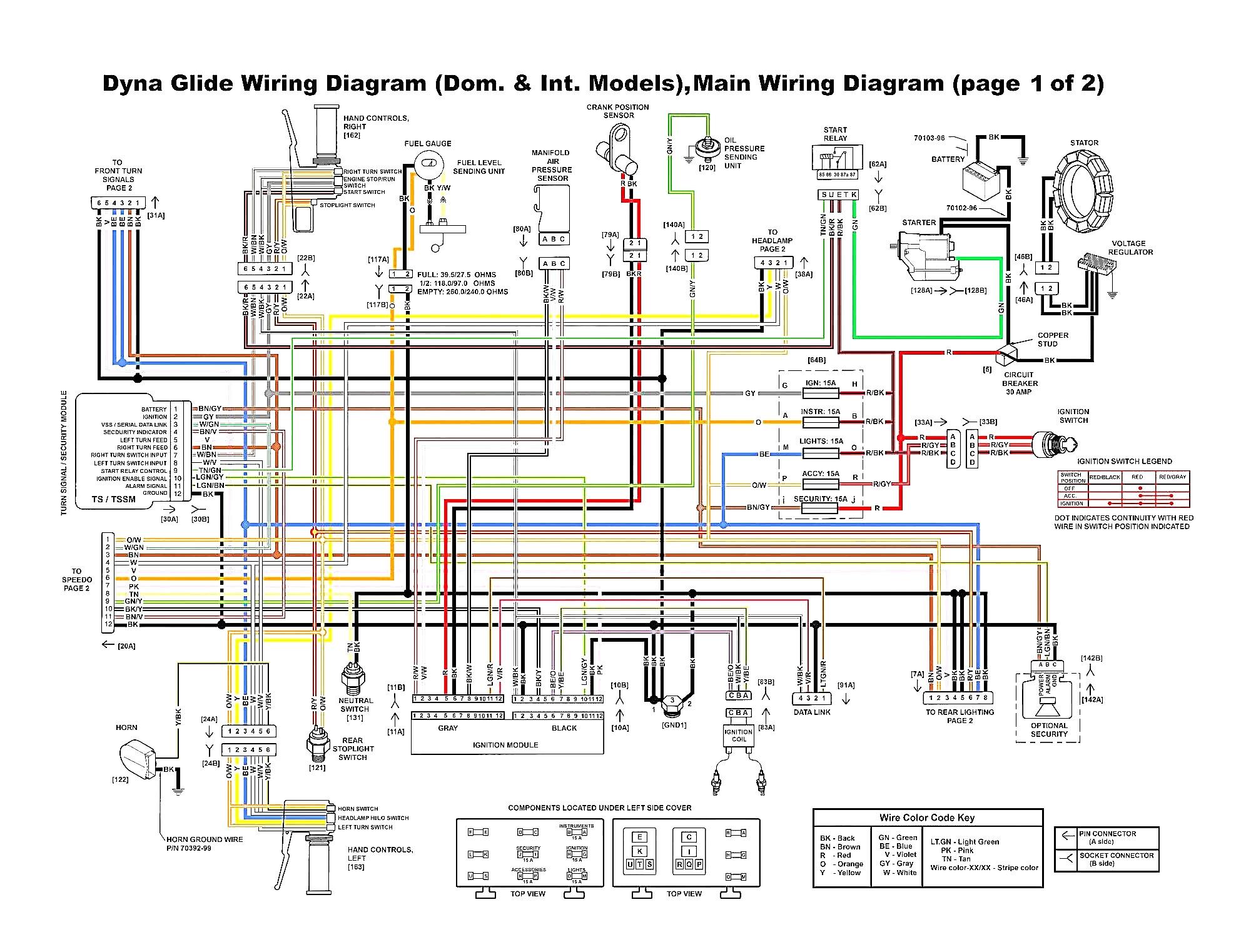2002 Flh Harley Davidson Wiring Schematic Wiring Diagram For Harley Davidson Softail Free Wiring