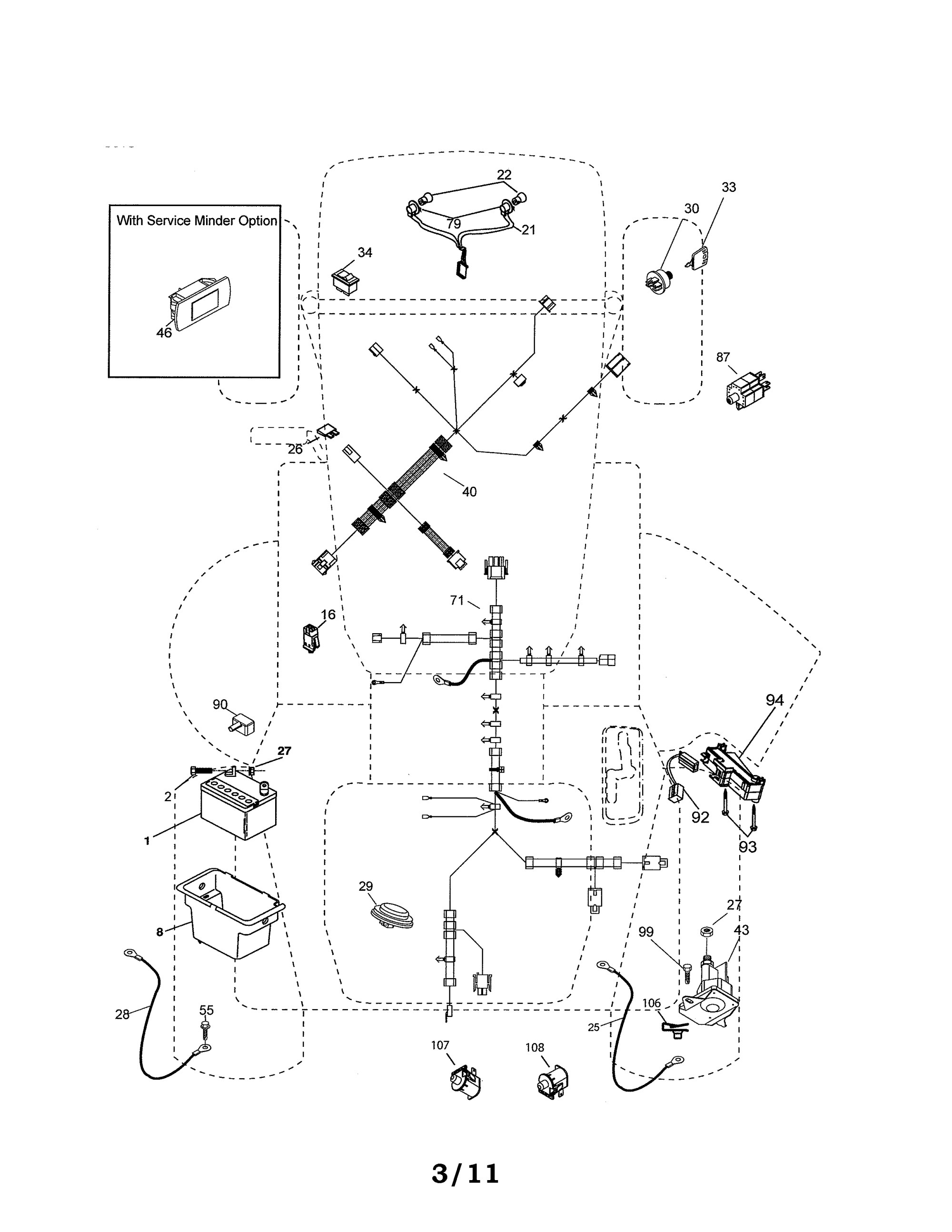 hight resolution of wiring diagram for husqvarna mower husqvarna tractor electrical parts 15o