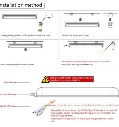 wiring diagram for led tube lights [ 1000 x 1000 Pixel ]