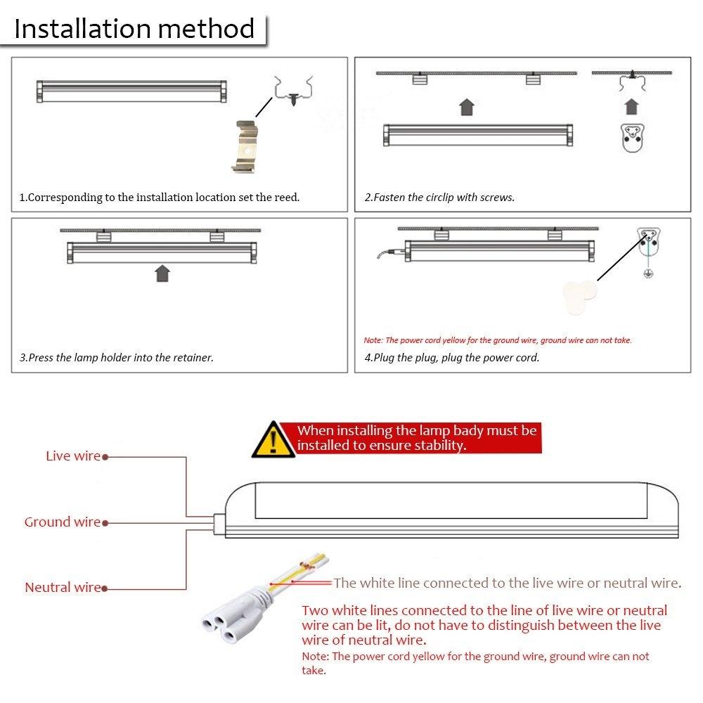 medium resolution of wiring diagram for led tube lights