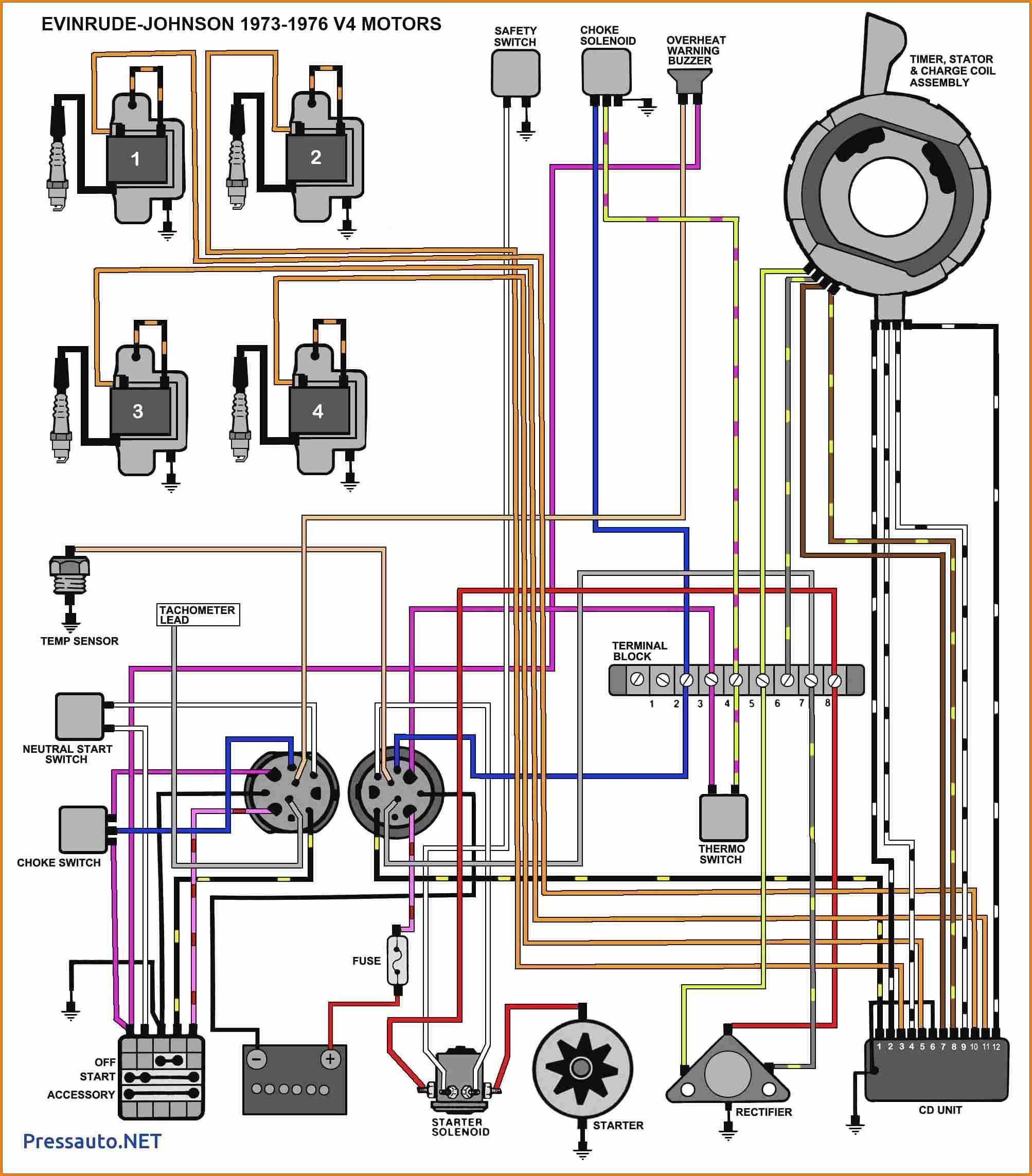 Mercury Outboard Motor Wiring Diagram - Today Diagram Database
