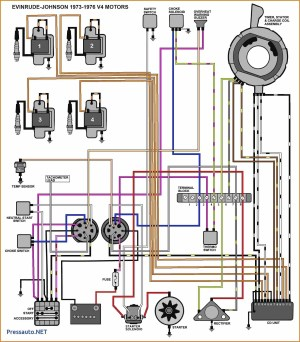 Wiring Diagram for Mercury Outboard Motor | Free Wiring