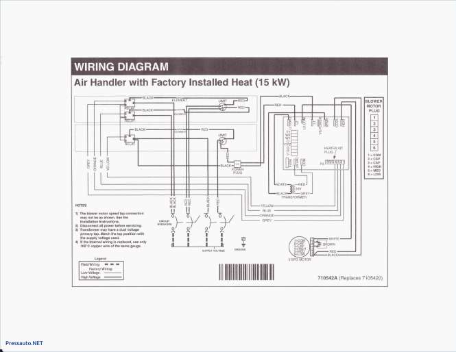 Mobile Home Electric Furnace Wiring Diagram