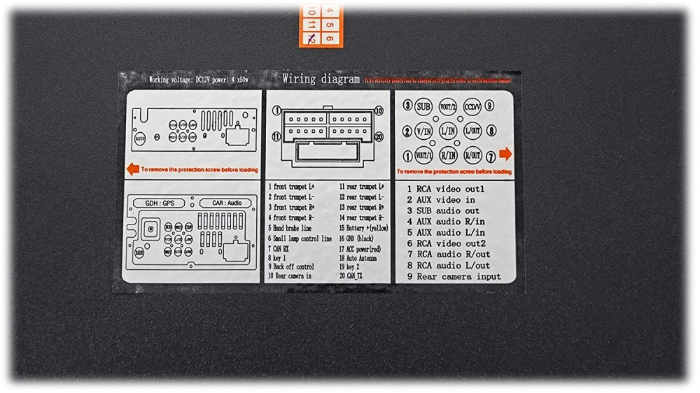 medium resolution of xsvi 9003 nav wiring diagram
