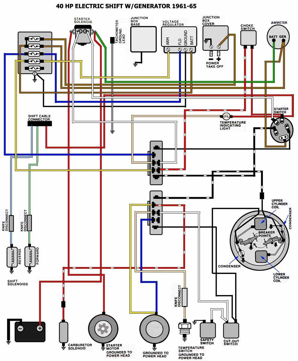 medium resolution of yamaha outboard ignition switch wiring diagram