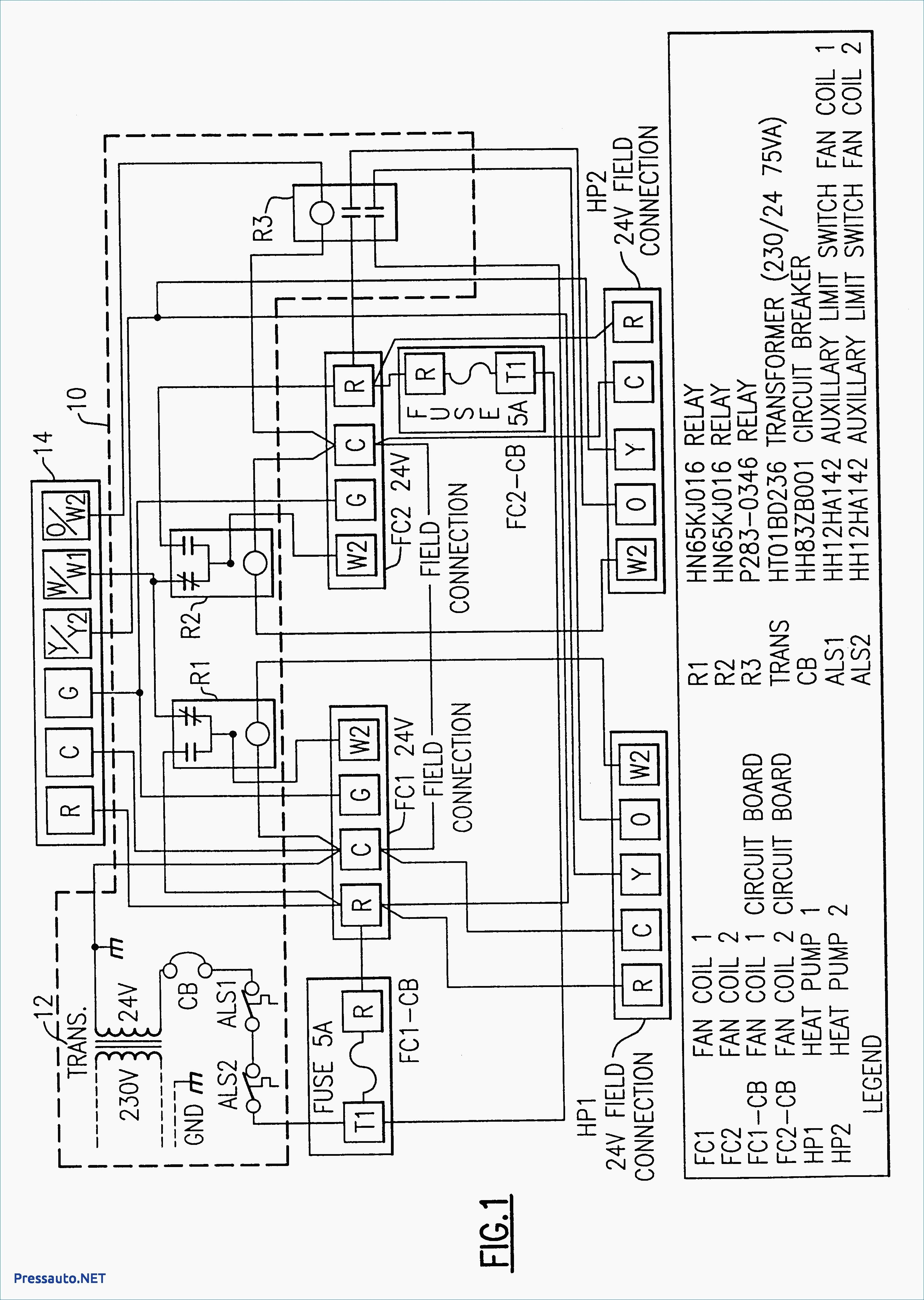 York Motor Wiring Diagram