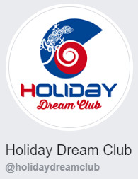 Holiday Dream Club sui social network