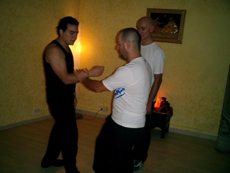Una delle mie prime lezioni a Marco Collacciani ad Albano Laziale