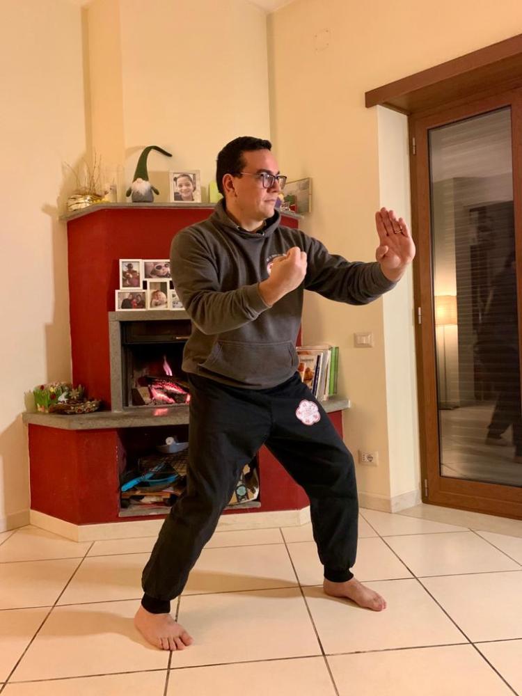 esercita il Wing Chun