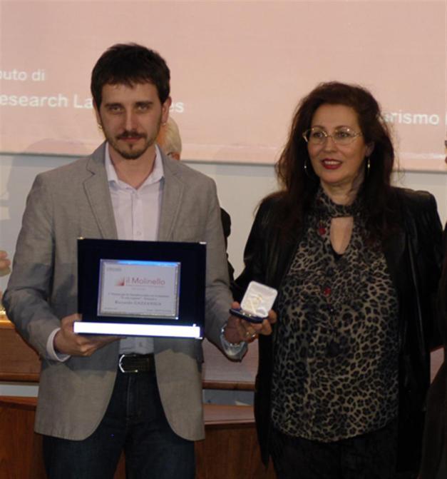 """""""A viso coperto"""" vince il premio """"Il Molinello"""" 2015"""