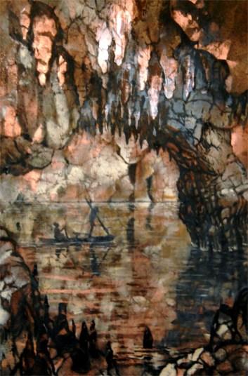 passaggio interno - 40x60 -mixed media on canvas - 2013