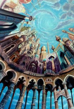 le porte dei sogni - 70x100 - oil on canvas - 2003