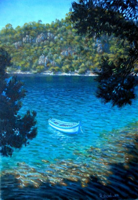 Lastovo - 40x60 - oil on canvas -2013