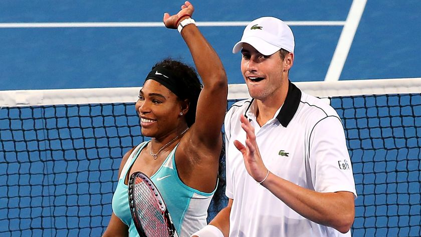 Serena Williams e John Isner