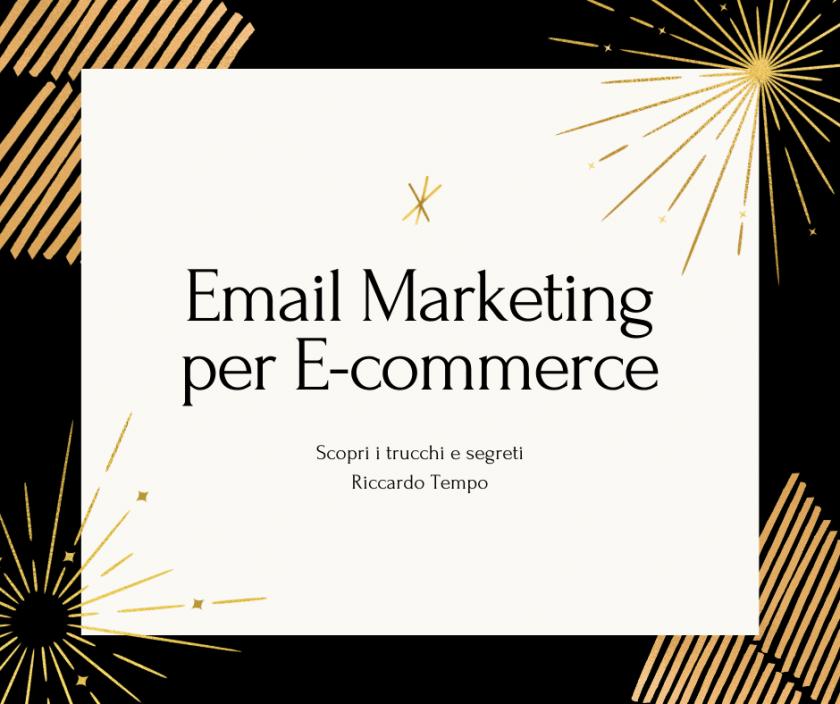 Email Marketing x ecommerce