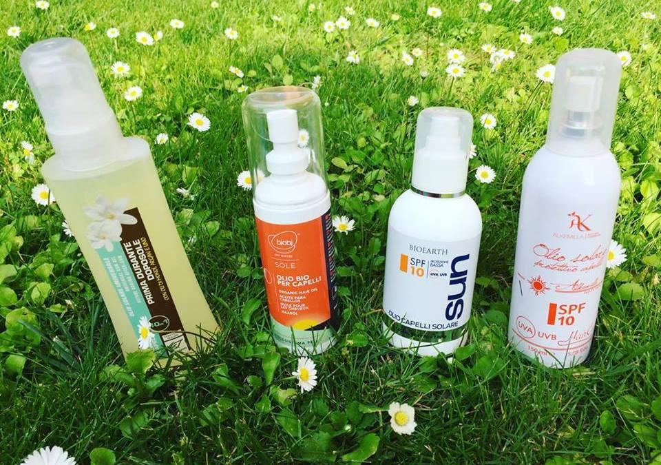 Oli solari protettivi per capelli ricci: 4 prodotti tra cui scegliere