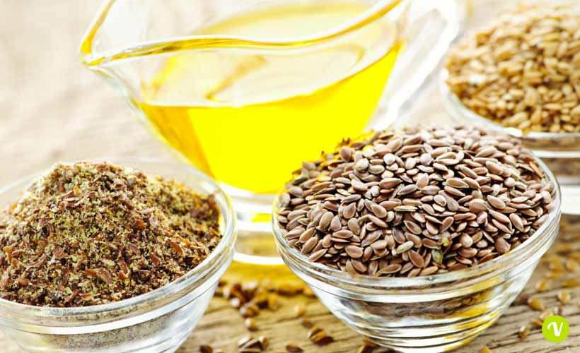 L'olio di semi di lino per la cura dei capelli ricci crespi
