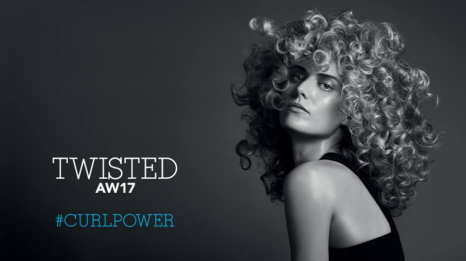 Novità A/W 2017 per capelli ricci: la linea Care&Styling TWISTED di SEBASTIAN con estratto di alga rossa