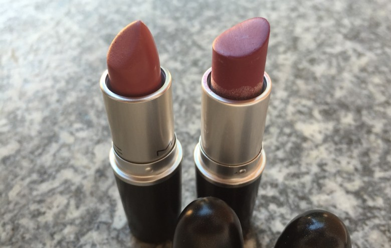 Mehr MAC Lipstic vs Plumful MAC Lipstick