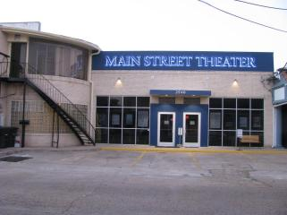 The façade of Main Street Theater