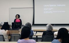 """Artist and instructor Laura Spector talks about her upcoming """"Introduction to Drawing"""" course."""