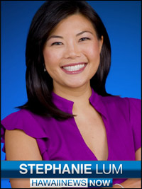 Hawaii News Now's Stephanie Lum